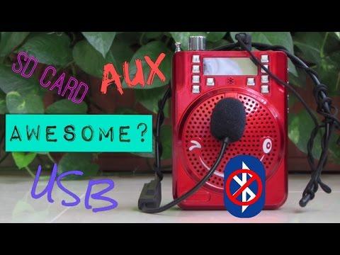 Portable Loud Speaker For 20$!!