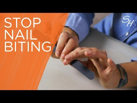 Ask Sally: How to stop nail biting