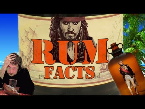7 Fun Rum Facts | Alcohol Fact Video about Rum You Didn't Know