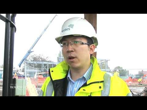 Warwick WARP - fingerprint technology on building sites