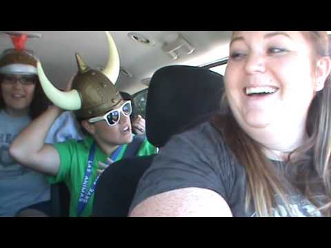 LAES Staff Carpool Karaoke Party in the USA
