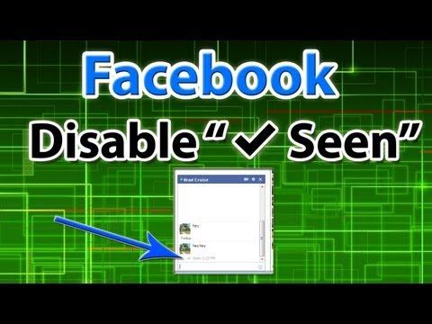 Facebook Hack:  Disable
