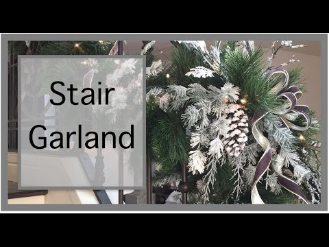 Christmas Decorations | How to make Your Own Garland