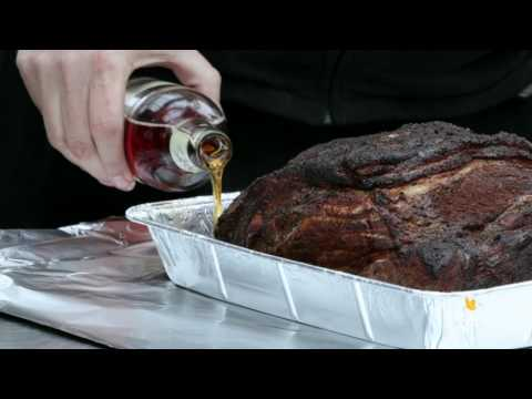 Pork shoulder (Pulled pork) cooked on the Weber Smokey Mountain (WSM) cooker