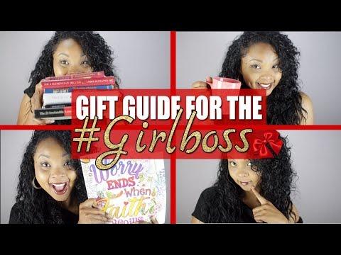 Gift Guide for the #GirlBoss (Under $100)