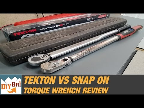 Snap On Torque Wrench Vs Tekton | Best Torque Wrench?