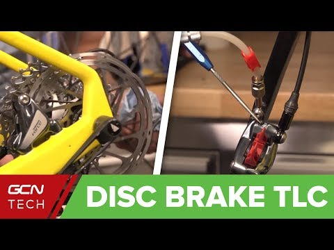 How To Care For Your Disc Brakes | Road Bike Maintenance