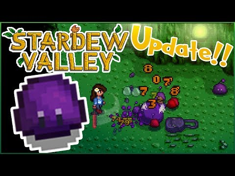 A Slimy New Situation in the Skull Caverns?! 🌿 Stardew Valley 1.3 Update • Episode #12