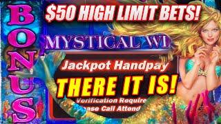 HIGH LIMIT LIVE PLAY WITH JACKPOTS! ★ MYSTICAL MERMAID RETURNS SLOT MACHINE WIN