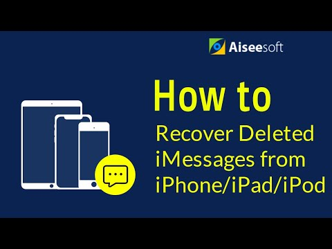 FoneLab - The Easiest Way to Recover Deleted iMessages from iPhone/iPad/iPod Touch