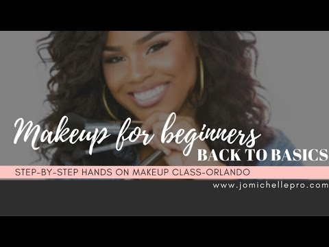 Back To Basics-Beginners Makeup Class