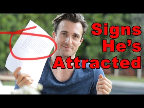"""How Do I Know If He's Attracted to Me?"" (Matthew Hussey, Get The Guy)"