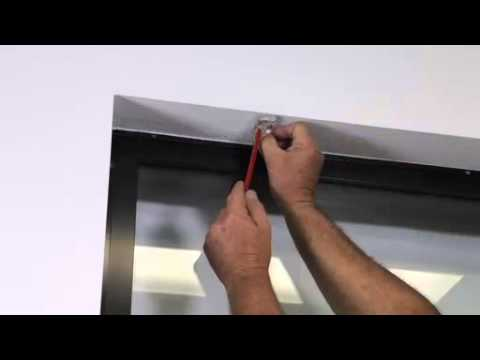 How to install a Roman Blinds