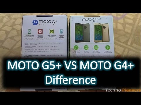 Moto G5 Plus VS Moto G4 Plus: What is the difference between?