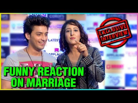 Kinshuk Vaidya & Shivya Pathania FUNNY REACTION On Their MARRIAGE | Exclusive Interview