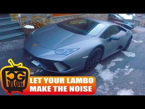 Lamborghini Huracan Performante test drive - CG VLOG # 295