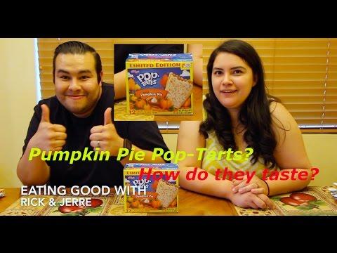 How do Pumpkin Pie Pop-Tarts Taste?