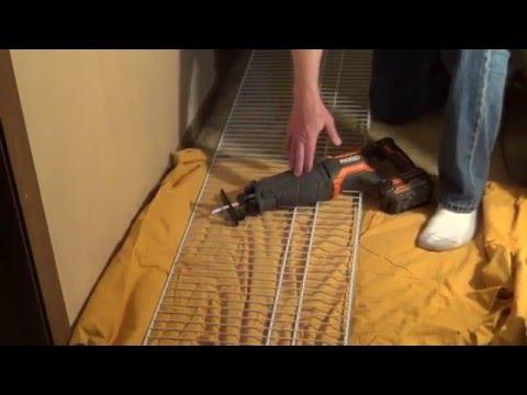 How to Install ClosetMaid Shelving
