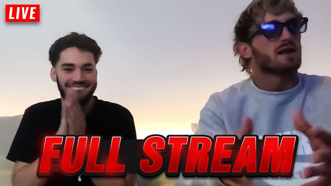 Adin & Logan Paul FULL STREAM - [6/4/2021]