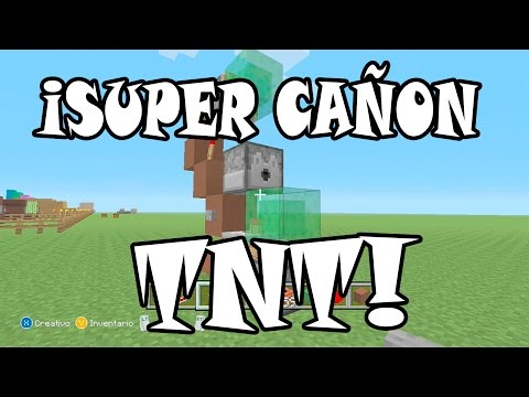 ¡TUTORIAL! ¡Como Hacer Un Cañon De TNT Con Slimes!! | MINECRAFT (Xbox360/One/Ps3/Ps4/Psvita/Pc)