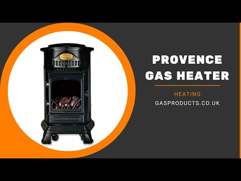 Provence Indoor Portable Gas Heater - 5 Colours!