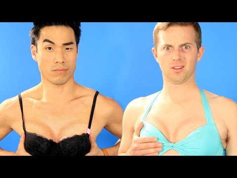 The Try Guys Try Boob Contouring
