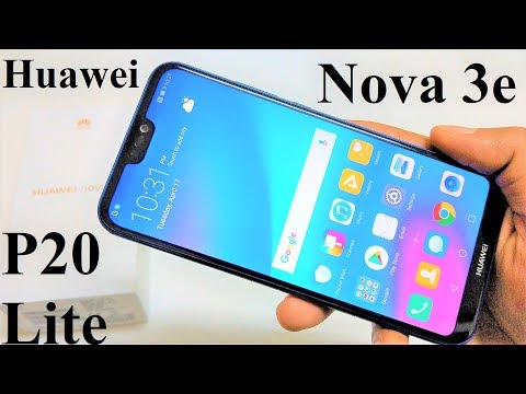 Huawei Nova 3E / P20 Lite - Unboxing and First Impressions