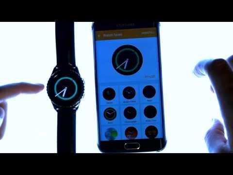 Gear S2 Review - Tutorial - How to use & Features - Close up look