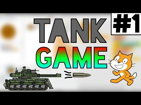 Scratch Tutorial: How to Create an Awesome Multiplayer Tank Game! Part 1