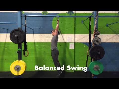 balanced kip swing