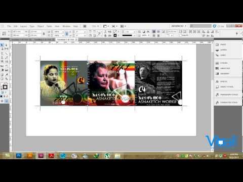 INDESIGN CS 5, Designing a CD Cover in Amharic Tutorial by Ras Fitsum Solomon