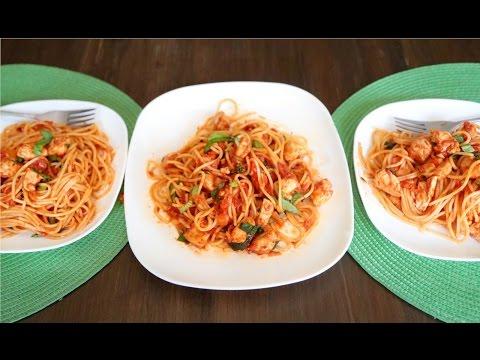 Tippy Tuesday: Spaghetti with Chicken Marinara Sauce