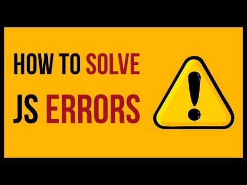 Tips to Solve JavaScript Errors Easily | vishAcademy