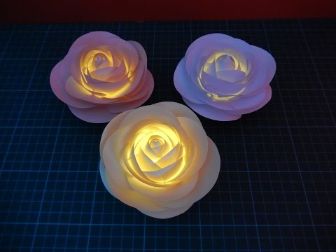 Night Light Rose - Tutorial