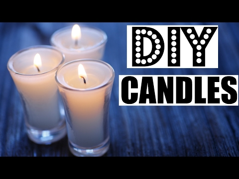 How to make CANDLES at HOME  ft. COZYOURS candle wicks