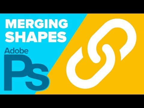 How to Merge Shapes in Photoshop