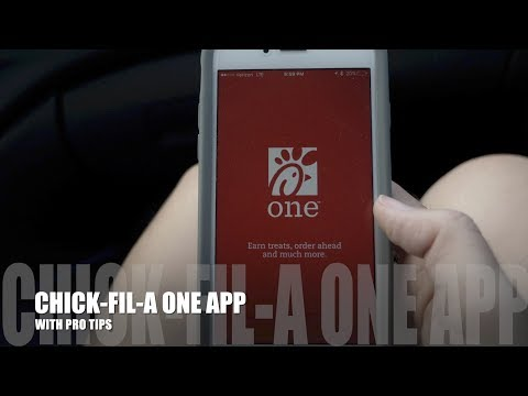 CHICK-FIL-A ONE APP WITH PRO TIPS
