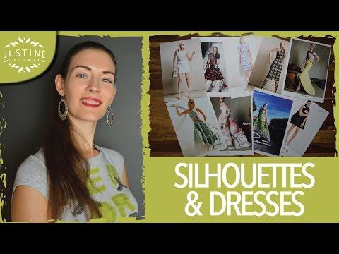 Fashion design: dresses & silhouettes | Justine Leconte