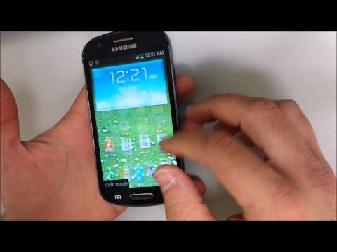 How to get Samsung Galaxy Express IN & OUT of safe mode