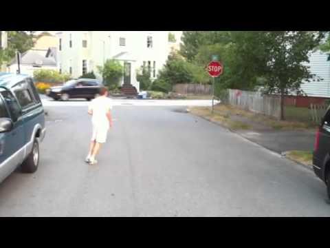 Stop sign challenge