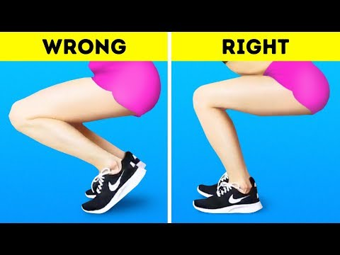 30 EXERCISES YOU KEEP DOING WRONG
