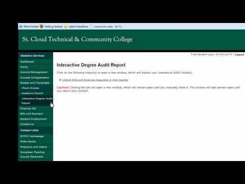 How to Access Your Degree Audit Report (DARS)