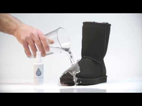 Liquiproof Footwear Protector now available at Tessuti - Best way to keep Uggs boots clean
