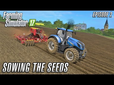 Farming Simulator 2017 | Sandy Bay | SOWING SEEDS | Episode 2