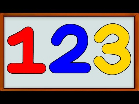 Learn Numbers | Learn How to Write | Counting Numbers 1 to 10