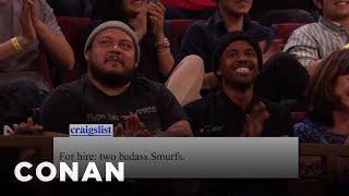 Conan Audience Craigslist For 05/09/16  - CONAN on TBS