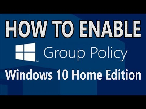 [Solved] How to enable Group Policy in Windows 10 Home Edition   Unable to set Password Policy.