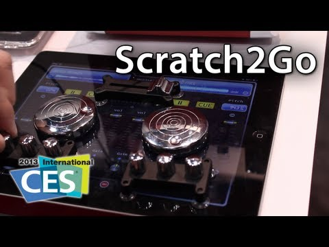 [CES 2013] ION Audio Scratch 2 Go For iPad / iPad mini