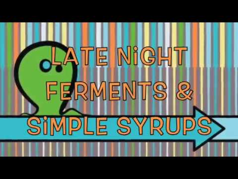 Making Simple Syrups & Ferments At Home With Ken Litchfield Sonoma Mycology & Mushroom Camp 2017