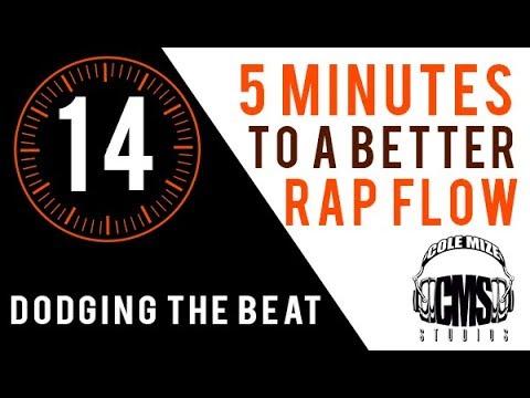Dodging The Beat: 5 Minutes To A Better Rap Flow - ColeMizeStudios.com
